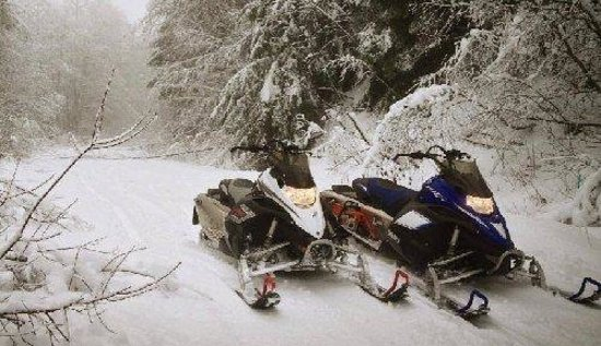 Backcountry Rentals - Day Rentals: Testing our new snowmobiles