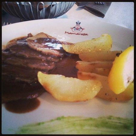 Mamarosa Beach Restaurant : potatos