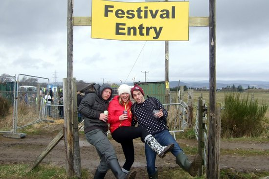 Bogbain Farm: Festival Entry
