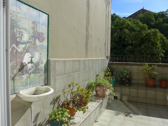 Hostal Ramos: вид с террасы