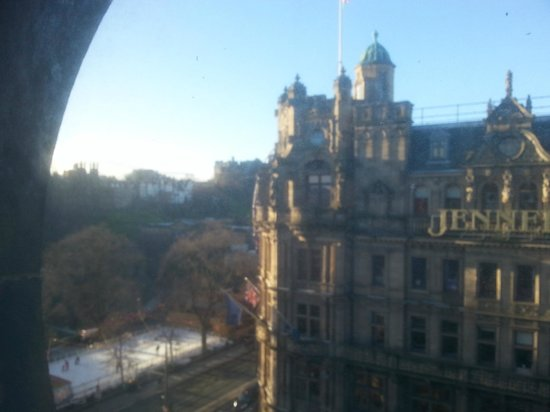 The Old Waverley Hotel: room view from the room