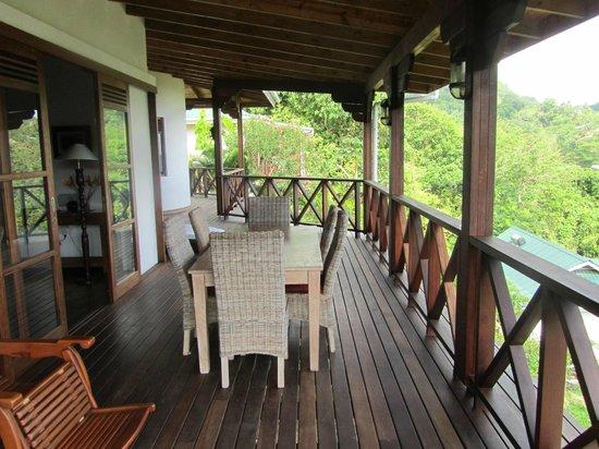 Villas de Jardin: Deck
