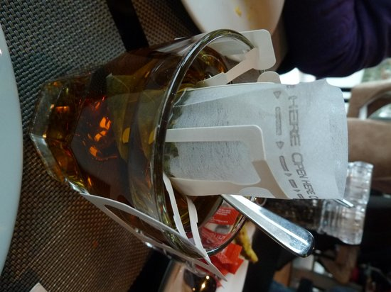 Crowne Plaza Den Haag - Promenade: Delicious fresh breakfast tea