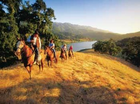 Alisal Guest Ranch & Resort: Horseback Riding