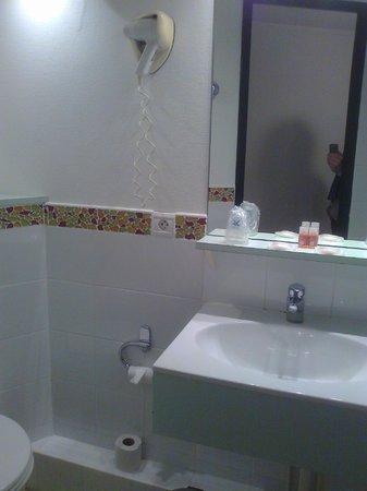 Inter-Hotel Le Beaulieu : salle de bain