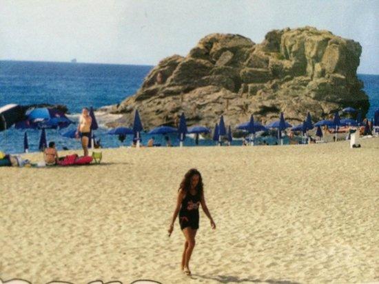 Villaggio La Quiete: Uno dei lidi lungo la costa