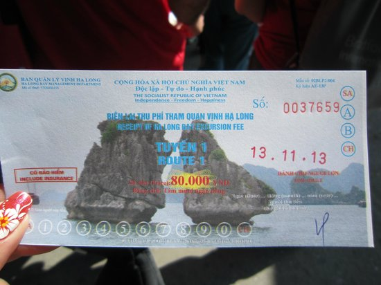 Vietnam Impressive - Private Day Tours: Ticket - Ha Long Bay Cruise _ Joint tour 1 day