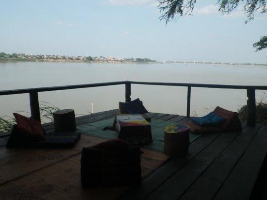 Mekong Bamboo Hut : Moment farniente