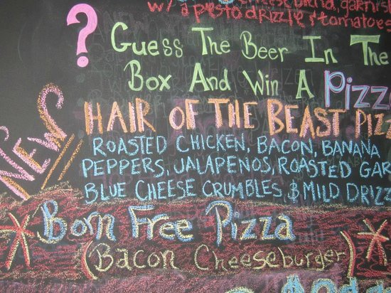 Panheads Pizzeria: More fun choices!