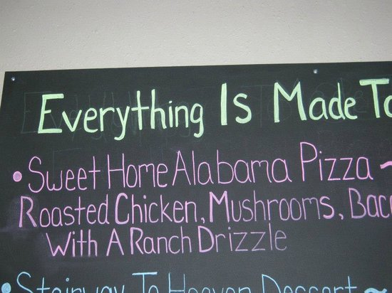 Panheads Pizzeria: Fun names to dishes