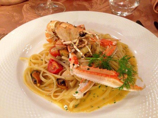 Hotel la Cacciatora Wellness & Beauty: Ottimo ristorante