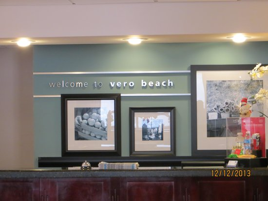 Hampton Inn Vero Beach: Recepção