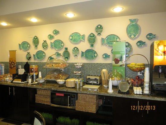 Hampton Inn Vero Beach: Café da manhã
