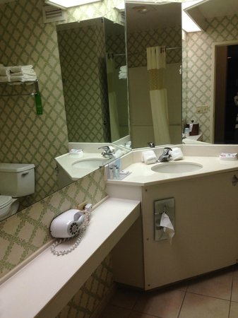 Hampton Inn Burlington : bathroom