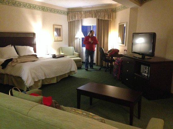 Hampton Inn Burlington : our room