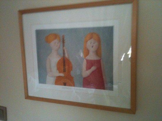 Agva Greenline Guesthouse : Odada yer alan tablodan bir kare