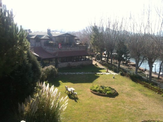 Agva Greenline Guesthouse : oda manzarası