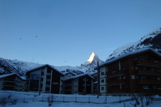 Hotel National Zermatt: Blick vom National