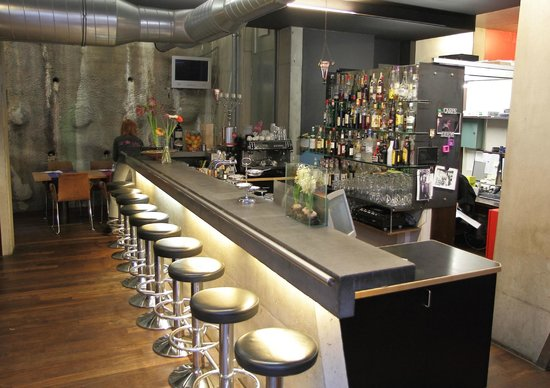 Hotel Lux Alpinae: The well-stocked bar
