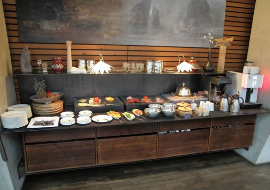 Hotel Lux Alpinae: Just part of the breakfast buffet