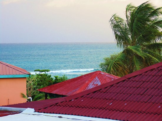 Hector's by the Sea: View of Caribbean Sea from Casita #1.