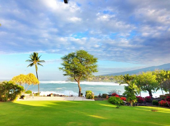 Sheraton Kona Resort & Spa at Keauhou Bay: Breakfast view