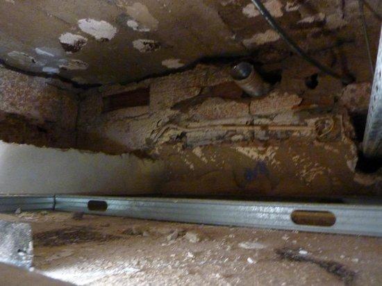 Belver Boa Vista Hotel & Spa : Ceiling void used as a air plenum