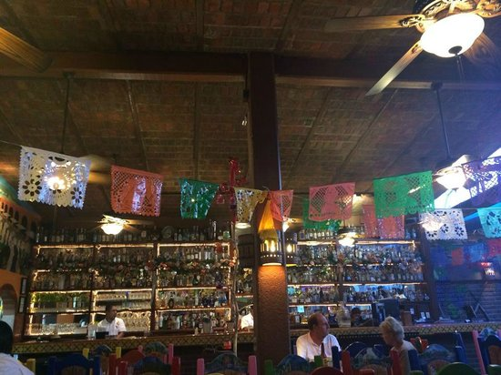 Pancho's Restaurant & Tequila Bar: tequila galore!