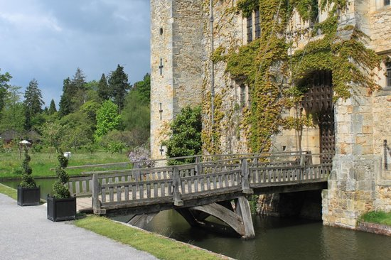 Hever Castle & Gardens: Zugbrücke von Hever Castle