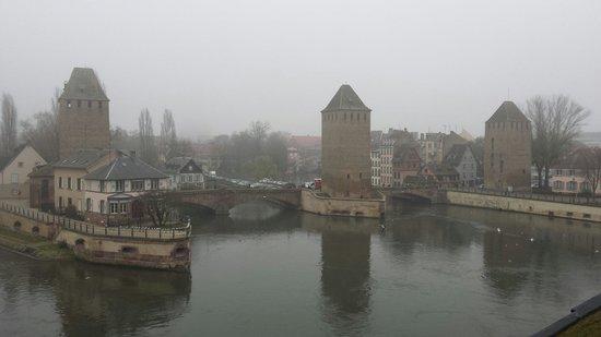 Barrage Vauban : Sous le brouillard