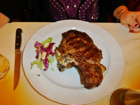 Girarrosto Fiorentino : Steak Florentine