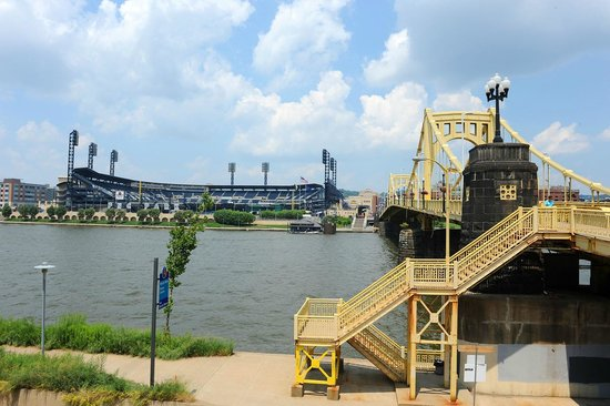 PNC Park : From across the river