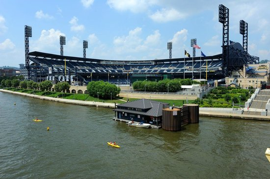 PNC Park: From the outside