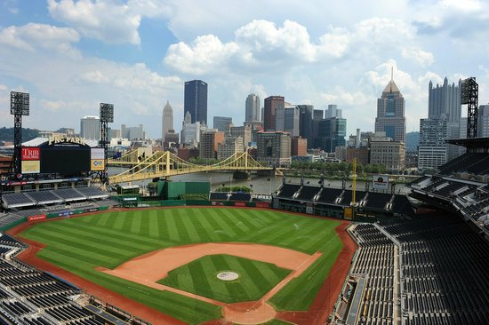 PNC Park: View from the commentators room