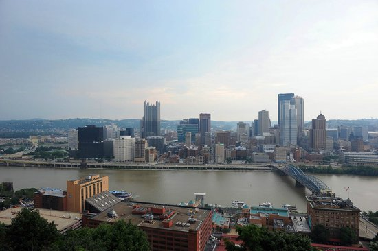 Duquesne Incline: Magnificant view!