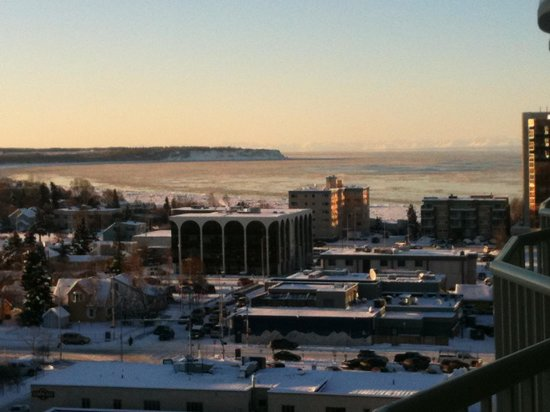 Westmark Anchorage: View from our balony
