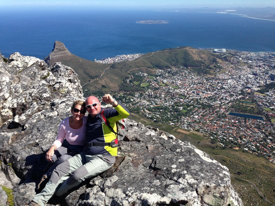 Hike Table Mountain: Relief and elation!