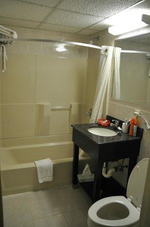 Super 8 North Bergen NJ/NYC Area : Bagno della camera