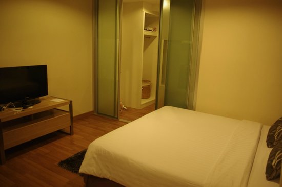 Viva Garden Serviced Residence : Bedroom