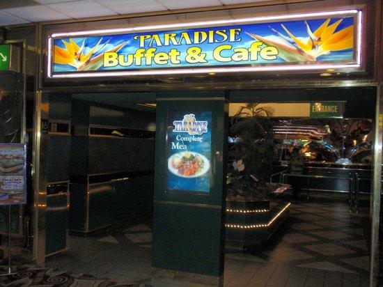 Paradise Buffet and Cafe: Paradise Buffet & Cafe signage