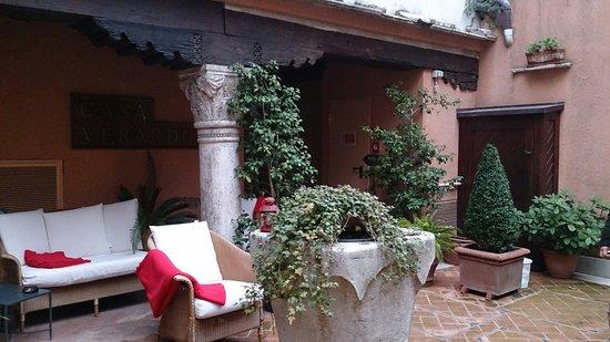 Hotel Casa Verardo - Residenza D'Epoca: Patio