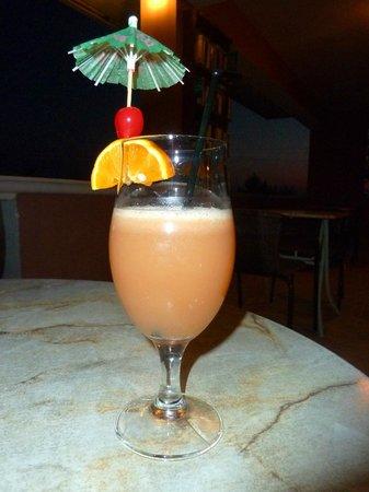 Kerasia Studios: Cocktail from pool bar