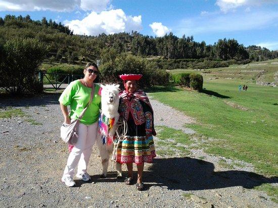Sacsayhuamán: Recepção dentro do parque