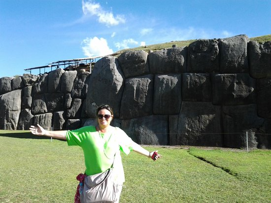 Sacsayhuamán: Pedras do período inca