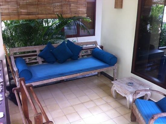 Karma Kayak : divano portico