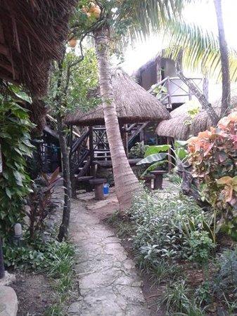Hotel Playa Kin Ha : patio