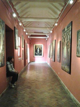 Pre-Columbian Art Museum: Sala das pinturas cusqueñas.