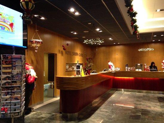 Santa's Hotel Santa Claus: Reception