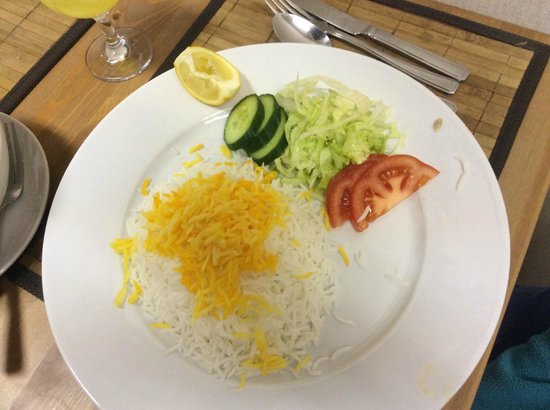 Persian BBQ House: Safron Rice