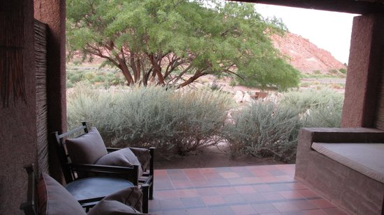 Alto Atacama Desert Lodge & Spa: Terraza individual
